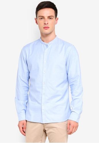 Banana Republic 藍色 Oxford Shirt 2E0E5AA0874C5CGS_1