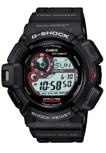 f37b4b1991c Casio G-Shock G-9300-1DR Jam Tangan Pria Rubber Strap Hitam Merah