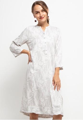 Triset Ladies grey Qalin Dress C6B12AA907E7CCGS_1