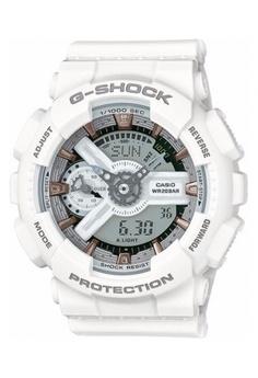 af77d8d81128 G-shock white CASIO G-SHOCK S SERIES GMAS110CM-7A2 GS076AC28PSTMY 1