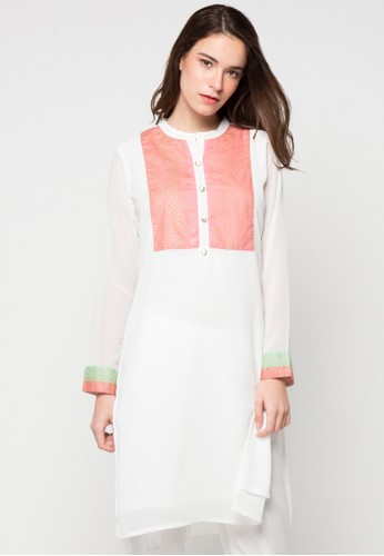 CHANIRA FESTIVE COLLECTION white Reena Dress CH354AA77BHYID_1