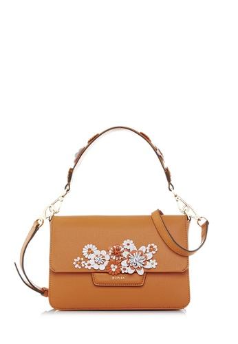 BONIA orange Orange Botanica Shoulder Bag S 615C4AC56AA782GS_1