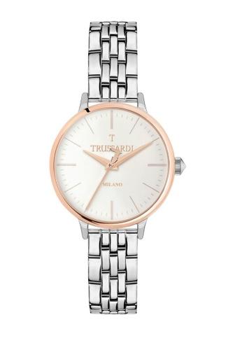 Trussardi silver T-Sun Quartz Watch R2453126503 Silver Metal Strap 82C86AC3890DB9GS_1