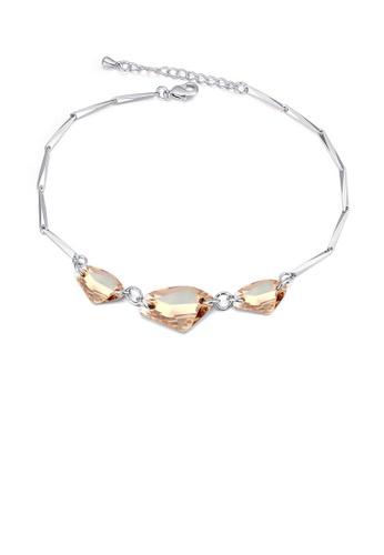 Urban Outlier silver and gold Crystal Bracelet B1121395 A35FDAC8CD2FCBGS_1