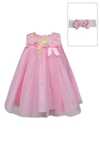 ESTRELLA pink Dress Anak Esp 147 3/9M 0B679KAD60761AGS_1