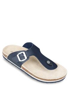 Faux Leather - Strap Sandals