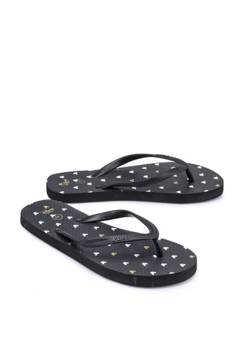 Rubi black Rubi Thong Flip Flops CF742SH19192EBGS_1