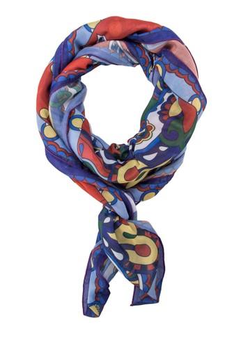 印花絲巾, zalora時尚購物網評價飾品配件, 披肩