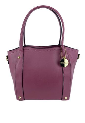 Mel&Co pink Basic Satchel Bag FB8FAACF7174E7GS_1