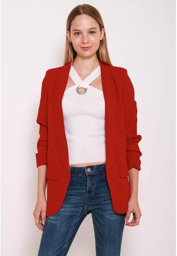 Leline Style red Sheila Chic Blazer LE802AA0GMC9SG_1
