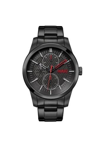 Hugo Boss black HUGO Real Black Men's Watch (1530156) 59E87ACFBCBF5EGS_1