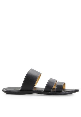 MARC & STUART Shoes black Sandal Nerio 2 MA456SH0UOR6ID_1
