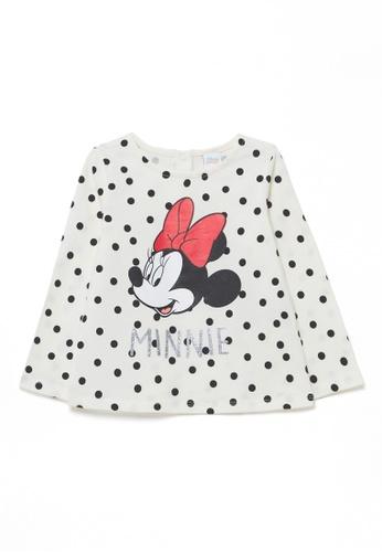 OVS white Disney Baby Minnie Mouse T-Shirt 032E4KA78F2766GS_1
