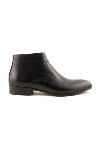 Rad Russel black Rad Russel Slip on Boots RA654SH00MGXSG_1