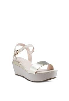 ec87d9c89d7e prettyFIT Metallic Sandal Wedges S  79.90. Available in several sizes