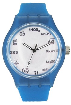 PIC Watch Equation Unisex Silicone Strap Watch