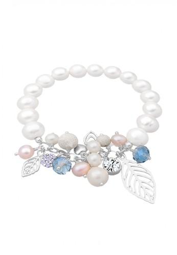 Elli Germany white Perhiasan Wanita Perak Asli - Silver Mutiara Swarovski® Crystal Putih 63CB9AC990C5BCGS_1