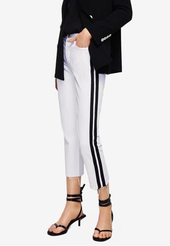 Mango white Sayana Straight Jeans 3FAAEAA947D63EGS_1