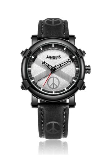 Assassin's Time black Assassin's Time PEACE Black Leather 37D27AC5596102GS_1