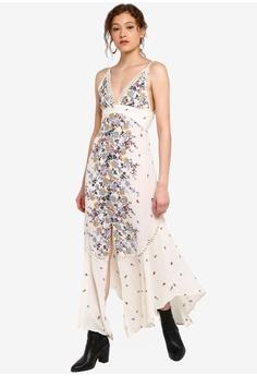 450faf1ae49cd Free People white Paradise Printed Maxi Dress 2F4F5AA4BB1DA0GS_1