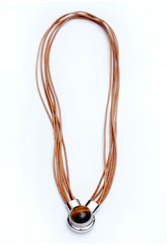 Genuine Leather Magnetic Necklace