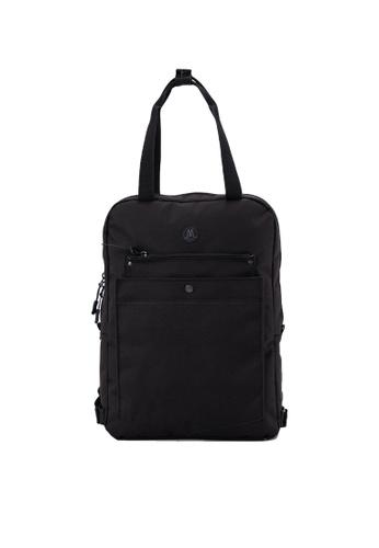 MORAL black Budd Backpack - Regular - Black Onyx 38E07AC50DFC6CGS_1