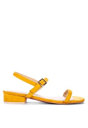 CARMELLETES yellow ANKLE STRAP SANDALS 1625ASH729B185GS_1