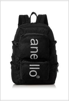 08ed51084b Anello black Large Capacity Multi-Pockets Backpack AH-N1011-BK BLACK  0B1C7AC40317B0GS_1