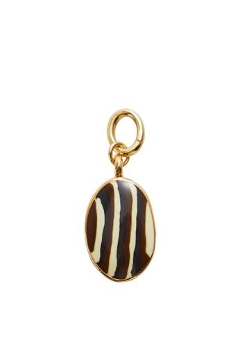 Mango gold Zebra Charm C6BBAAC0C70752GS_1