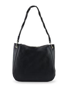 c501f0dcb9b9 Black Twist Handle Hobo Bag 4948EAC0C9380FGS 1 Dorothy Perkins ...