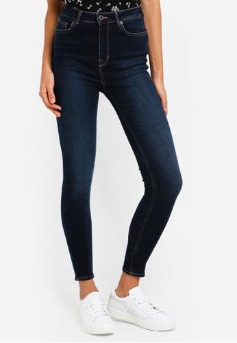 03f57e6a4fa Jack Wills blue Fernham High Waisted Super Skinny Jeans 1FFDFAA5AED9AFGS_1