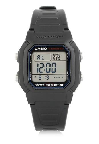 Casio black Casio Jam Tangan - Black - Resin - W-800H-1AVDF F3C0DAC3B913CFGS_1