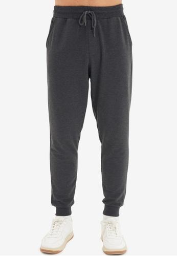Trendyol grey Plain Jogger Pants F65F8AA14E63D5GS_1
