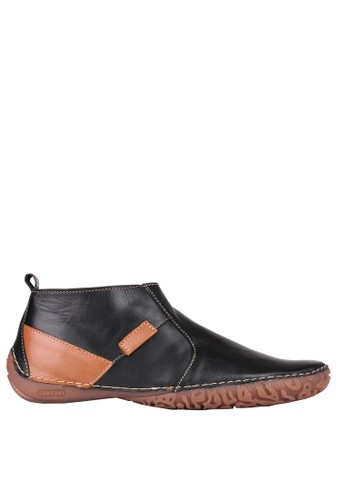 DR. MOCC black and brown Apollo 61-Black/Tan DR198SH49GVYID_1
