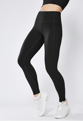 HAPPY FRIDAYS Hip lifting Sports Tights (No front crotch  line) QF1946 35968AA7020A00GS_1