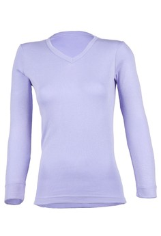 Magnolia V Neck Long Sleeve Tee