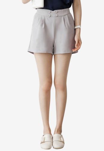Tokichoi grey Tailored Shorts 60C48AACAE93C9GS_1