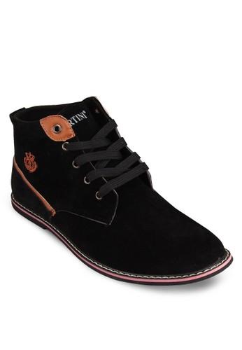 戶外仿esprit tw麂皮短靴, 鞋, 鞋