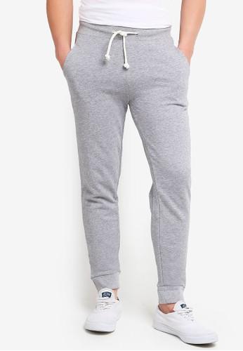 OVS grey Jogger Pants With Cuff BB57FAAD16CD64GS_1