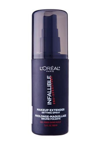 L'Oréal Paris black L'Oreal Paris Infallible Fixing Spray AE08EBE7774625GS_1