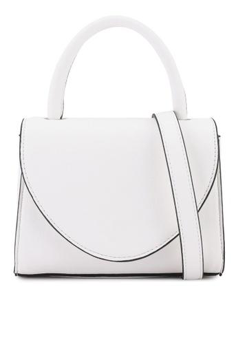 Keddo white Rouwayda Sling Bag 89E2EAC7E01DB3GS_1