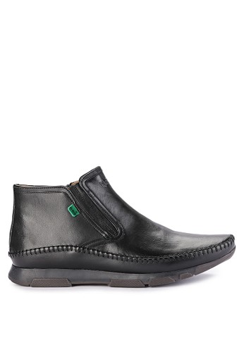 Kickers black Man Shoes 3113B 8B217SHA6E5945GS_1