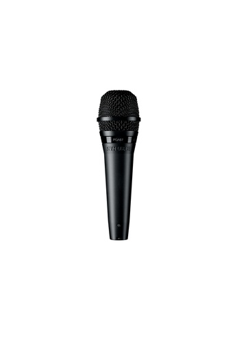 Shure black Shure PGA57 - XLR Cardioid Dynamic Instrument Microphone with XLR Cable (15') 12318ES57B4A51GS_1