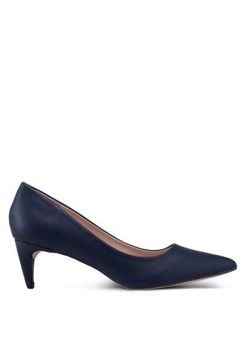 nose navy Pointy Toe Heel Pumps 0C06ASH3662FC9GS_1