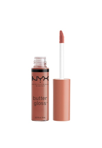 NYX Professional Makeup brown NYX Professional Makeup Butter Gloss - PRALINE 182D7BE25AE060GS_1