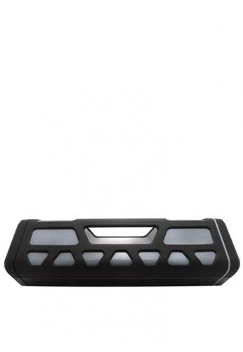 Latest Gadget black Outdoor Bluetooth Speaker With 2000 MAH Powerbank A99E6ACB706E85GS_1