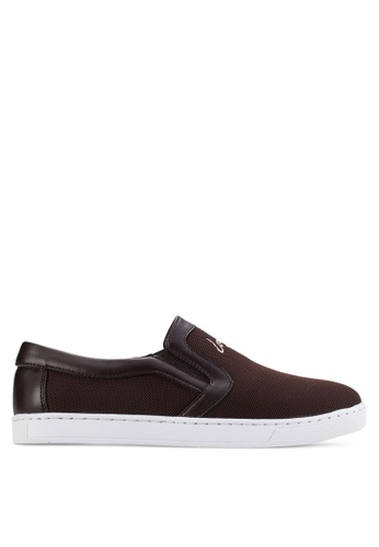 Louis Cuppers brown Casual Slip Ons LO977SH57AWCMY_1