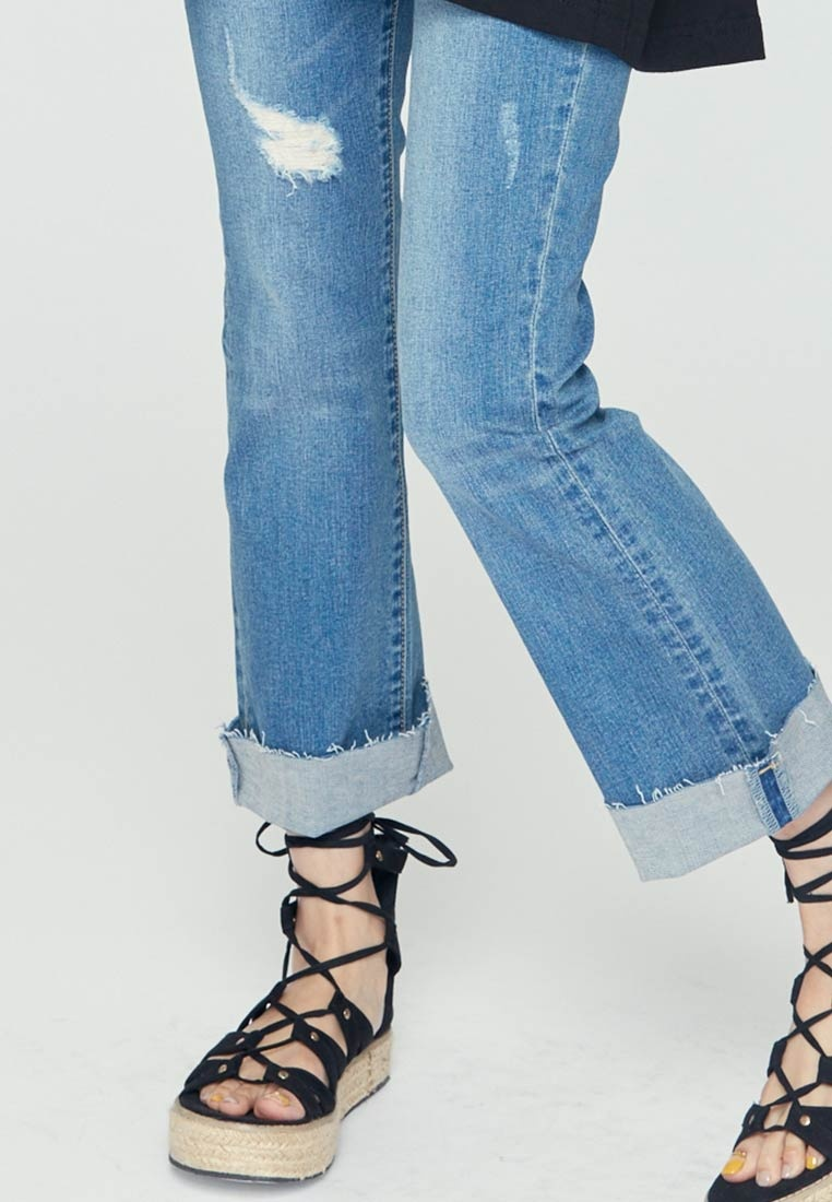 Casual Blue H Jeans Bootcut CONNECT xSw0vqvROn