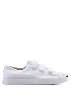 a5e7ab8267 Converse white Jack Purcell 3V Ox Sneakers 19A44SHFD655F4GS_1