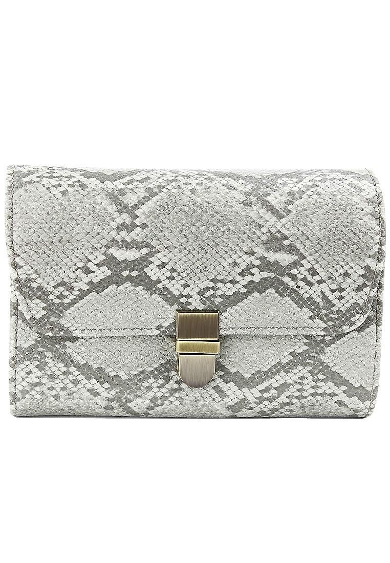 HappyRed Leather Purse Wallet Clutch Handbag Organizer w/ Removable Strap